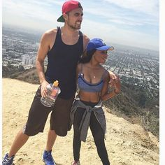 Gorgeous and fit interracial couple #love #wmbw #bwwm