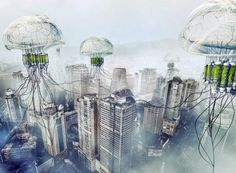 pH Conditioner: Floating Jellyfish Skyscrapers Combat Air Pollution While Producing Fresh Water | Inhabitat - Sustainable Design Innovation, Eco Architecture, Green Building