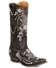 Old gringo ultra vintage bonnie cowgirl boot snip toe