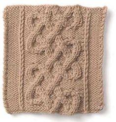 Stitch Gallery - Celtic Variations   Yarn   Knitting Patterns   Crochet Patterns   Yarnspirations