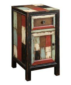 Patchwork Cabinet #zulily #zulilyfinds