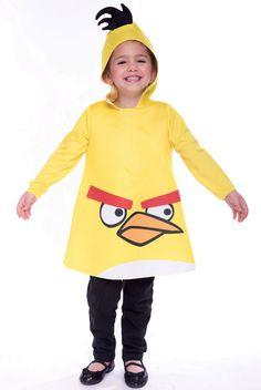 Angry Birds Yellow Bird Toddler Costume #halloween #costumes