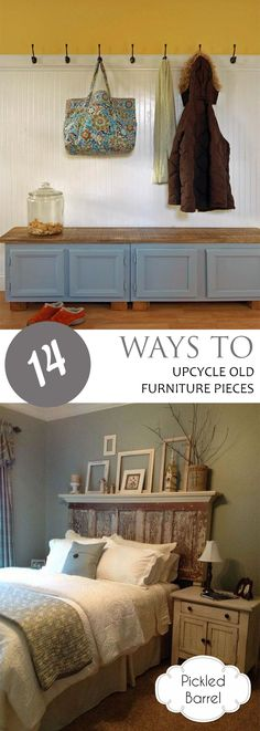 14 Ways to Upcycle Old Furniture Pieces