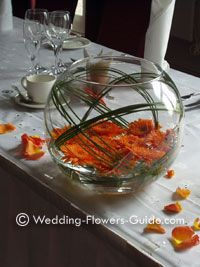 Centre Pieces. Easy and simple.