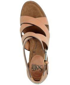Sofft Canita Dress Sandals - Tan/Beige 8.5M