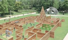 Midpark Dungeon : Tokyo Midtown ミッドパーク・ダンジョン DESIGN TOUCH 2013 東京ミッドタウン