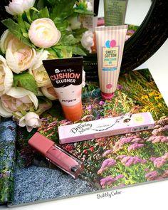 """Today's details  #bbloggers #beauty #beautyblogger #ibloggers #lipstick #liquidlipstick #blush #bbcream #foundation #koreancosmetic #holikaholika #motd…"""