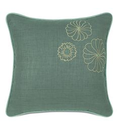 Embroidered Marny Teal from Eastern Accents