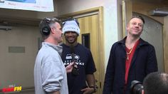 Bender interviews Russell Wilson and Macklemore / Seattle Children's Hos...