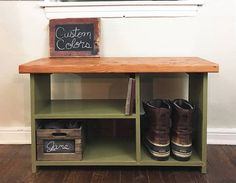 Entryway Bench With Shoe Storage, Entryway Organizer, Shoe Rack, Storage  Bench, Shoe Bench, Shoe Organizer, Entryway Bench With Storage