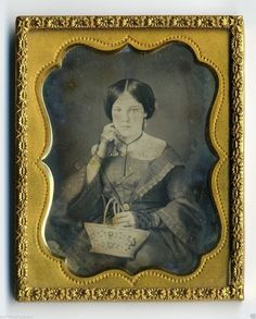 RARE 1850s NEW ENGLAND STATES BASKET MAKER CUTE GIRL OCCUPATIONAL DAGUERREOTYPE | Collectibles, Photographic Images, Vintage & Antique (Pre-1940) | eBay!