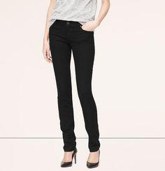 Modern Skinny Jeans in Black | Loft