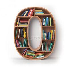 Alphabet in the form of shelves with books isolated on. Wooden Shelf Design, Corner Shelf Design, Corner Wall Shelves, Bookshelf Design, Wall Shelves Design, Wooden Shelves, Book Shelves, Decorating Bathroom Shelves, Decorating Bookshelves