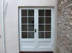 A single glazed pair of doors for a listed building Georgian Doors, Timber Door, Listed Building, Frames, Windows, Garden, Room, Bedroom, Garten