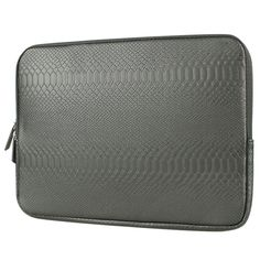 SHENG BEI ER Snake Skin Leather Sleeve Case 15 inch Laptop Bag,For MacBook Notebook Case Air ProBlack #Affiliate