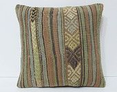 bohemian decor couch kilim cushion anatolian ethnic pillow craft kilim pillow shabby chic turkish pillow case pastel pillow case pale 19979