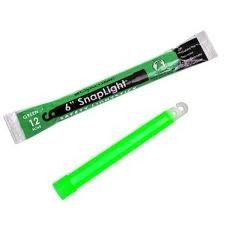 "6"" GREEN 12 Hour Cyalume SnapLight LightSticks  http://www.glaciersportinggoods.com/miscellaneous-accessories/  $1.99"
