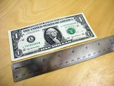The best DIY projects & DIY ideas and tutorials: sewing, paper craft, DIY. Ideas About DIY Life Hacks & Crafts 2017 / 2018 A dollar bill measures 6 inches long. Handy to know - and hopefully always at hand. Sewing Hacks, Sewing Tutorials, Sewing Tips, Sewing Projects, Craft Projects, Free Sewing, Sewing Ideas, Wood Projects, Hack Page