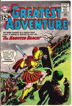 My Greatest Adventure 72 Dc Comics Outer Roman Roman Centurions GI Joe Space Aliens 1962 VG/FN by LifeofComics #comicbook