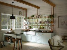 38 Ideas Kitchen Hacks Design Ikea Cabinets Storage For 2019 Cast Iron Kitchen Sinks, Modern Kitchen Sinks, Kitchen Sink Design, Kitchen Cabinet Styles, Diy Kitchen, Cool Kitchens, Kitchen Ideas, Kitchen Hacks, Home Design