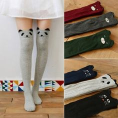 Cute Animals Thigh High Stockings