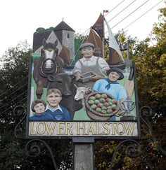 Lower Halstow, Kent, England Pub Signs, Name Signs, Shop Signs, East Wood, Different Signs, English Village, Kent England, Place Names, Decorative Signs