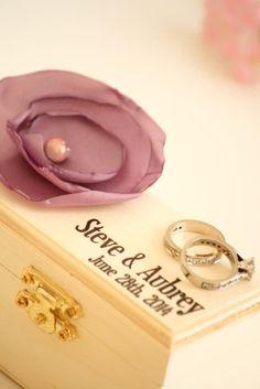 Custom Ring Bearer Box  Keepsake box  Wedding by LittleWeeShop, $19.99