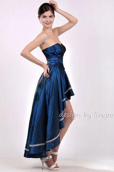 Sexy Sapphire Blue Semi Formal Cocktail Dress Prom Dress by livapo, $75.00