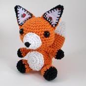 Eden Reborn Crochet Amigurumi Fox - via @Craftsy