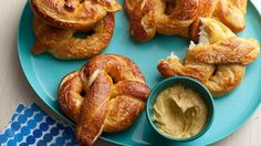 Get Homemade Soft Pretzels Recipe from Food Network
