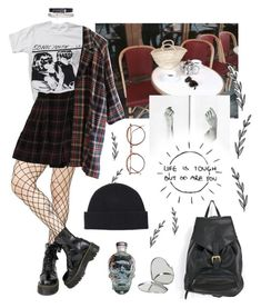 """Untitled #160"" by alduque ❤ liked on Polyvore featuring Floyd, Leg Avenue, Rena Rowan, Versace and Forever 21"