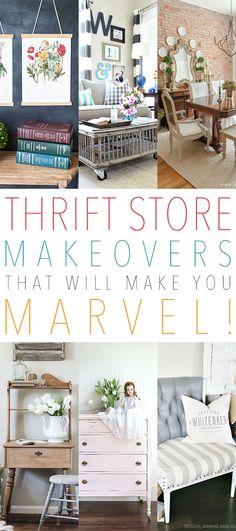 Thrift store makeovers