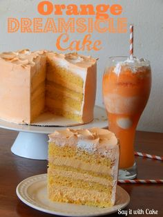 orange dreamsicle--birthday fairy would you please make this for my birthday