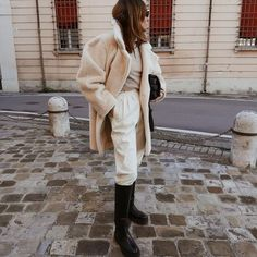 Photo shared by Nicole Ballardini on January 13, 2021 tagging @americanstyle, @hm, @andotherstories, @nicoleballardini, @modeblogg, @streetstyleluxe, @lookwis, @street_style_paris, and @newbottega. Image may contain: one or more people, people standing, shoes and outdoor. #Regram via @www.instagram.com/p/CJ_dKMKF4Ji/ Winter Fits, Paris, What I Wore, Red Wine, Winter Fashion, Normcore, Street Style, Photo And Video, Instagram