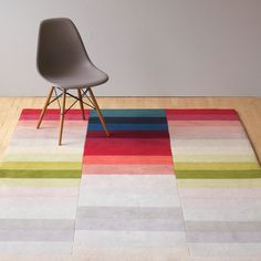 Itten Pile Rug By Ptolemy Mann | Patterned Rugs | Rugs | Living Room | Heal's