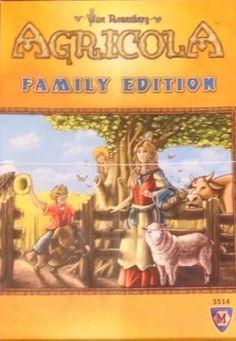 128814   Agricola Family Edition Brettspill Norsk En lettspilt versjon for hele familien!