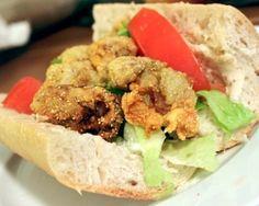 Fried Oyster Po'Boy Recipe