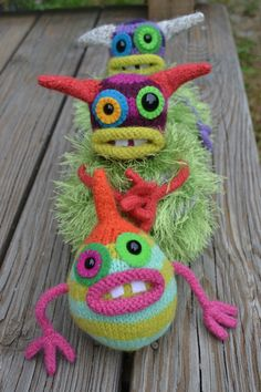 knit monsters