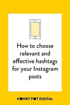 The hashtags you use on your Instagram posts can either attract your perfect audience, the right audience for just that post, or the wrong people altogether.The best way to get the right people to see your Instagram posts, is to conduct hashtag research on a regular basis and use those hashtags on your posts.