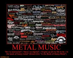 Metal Music that about sums it up
