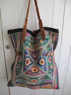 Vintage embroidered bag by shopgypsyriver on Etsy, $400.00
