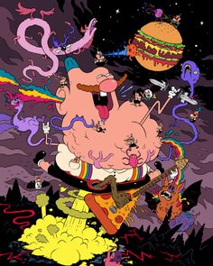 Uncle Grandpa by mrdynamite.deviantart.com on @deviantART