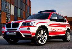 BMW X3 emergency vehicle image