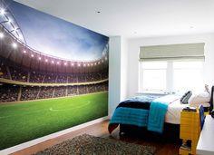 Fotobehang voetbalstadion - Sport behang | Muurmode.nl