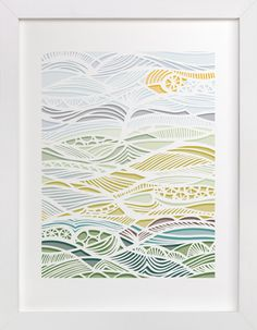 The River Runs Through by Gill Eggleston at minted.com
