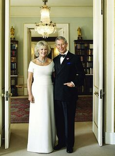 Camilla and Charles: Whatever you think of this couple, this is a good photo showing elegant style.