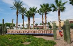 Chandler Fashion Square - great shopping experience - has all the stores you want plus really good restaurants:)  #Chandler