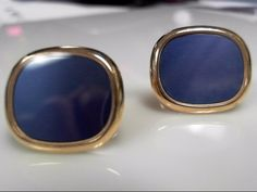$2450 Patek Phillippe Brushed Gold Cuff Links 18K Yellow Gold 28.34g The Ulitimate Grad or Dad Gift at Max Pawn of Las Vegas www.maxpawnlv.com  702-253-7296 #patekphillippe  #fathersdays2014