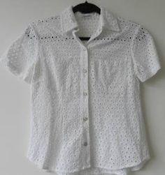 blusa de lese branca