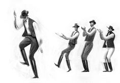 Study of Folk dancersCheck out https://sukantodebnath.com for more projects
